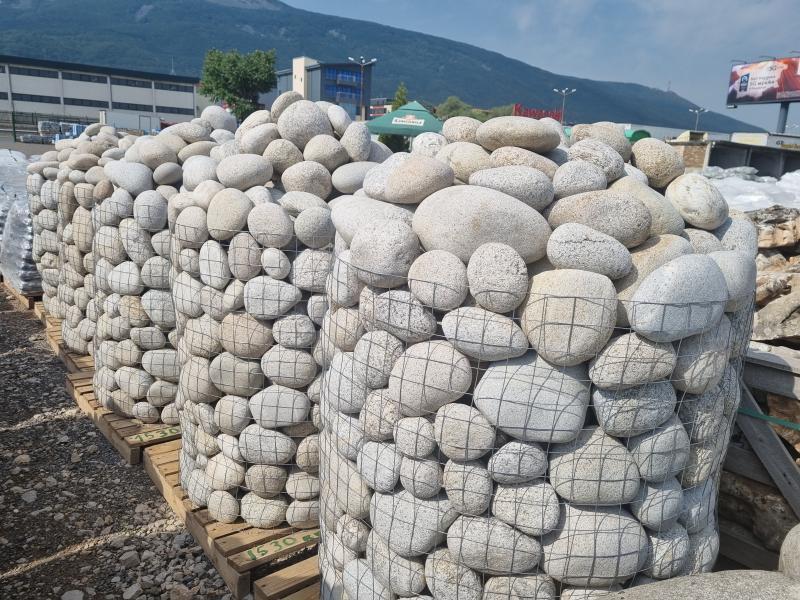 Речен камък топчета