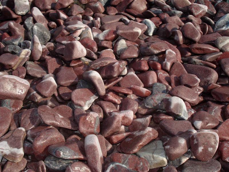 Декоративен камък бордо 20 кг. торба 2/4